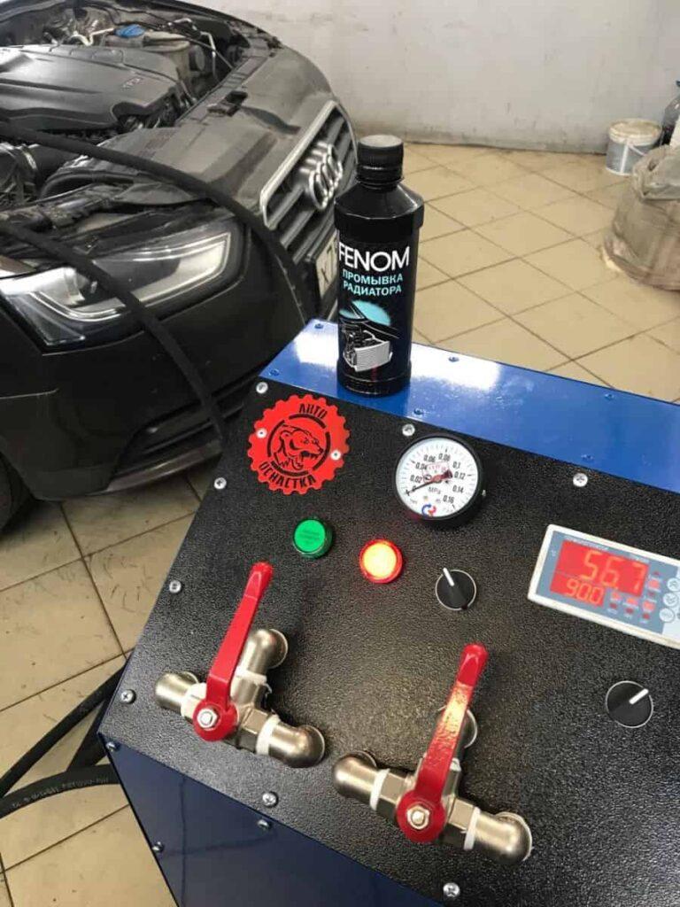 Промывка печки автомобиля